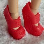 Red shoes for Liv dolls IV
