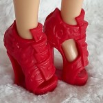 Red shoes for Liv dolls I