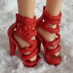 Red shoes for Liv dolls II