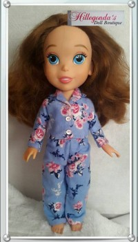 PJ's for Disney toddler doll Sofia