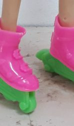 Faux Roller blades for Barbie