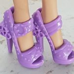 Purple shoes for Ever After dolls V
