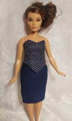 2 Piece ensemble for the Curvy Barbie doll