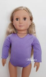 Lycra leotard for 18″ Our Generation doll