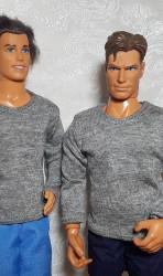 Grey long sleeve Tee-shirt for Ken