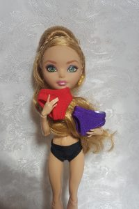 Panties for Monster and Ever After High dolls