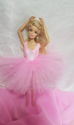 Light pink tutu with leotard
