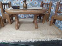 Burlap carpet