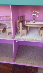 4 room doll house