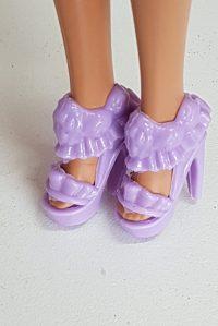 Lilac shoes