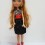Silver and black top and skirt for Ever After High dolls
