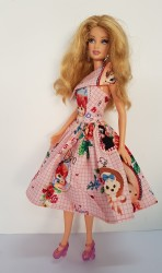 Picture Barbie day dress