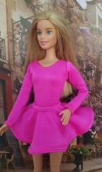 Cerise pink ballerina skirt