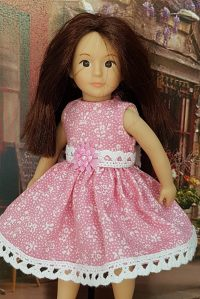 Light pink dress for Lori dolls