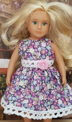 Lilac dress for Lori doll