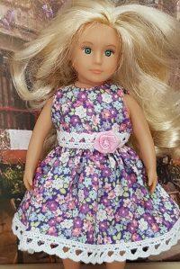 Lilac dress for Lori doll