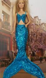 Aqua blue mermaid clothes