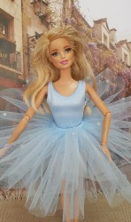 Light blue tutu set