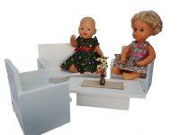 4 Piece Lounge set for 18″ dolls