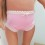 Pink Lycra pantie for 18″ dolls