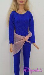 Unitard for Barbie  – various colors