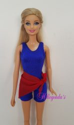 Biketard for Barbie  – various colors