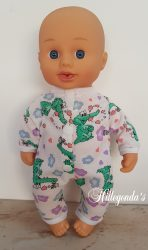 Babygrow for 33cm baby doll
