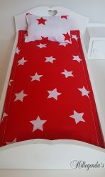 Bedding for Barbie's single bed