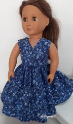 Blue dress for Our Generation doll