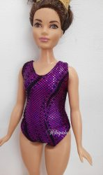 Leotard for Curvy Barbie – fancy/sparkle colors