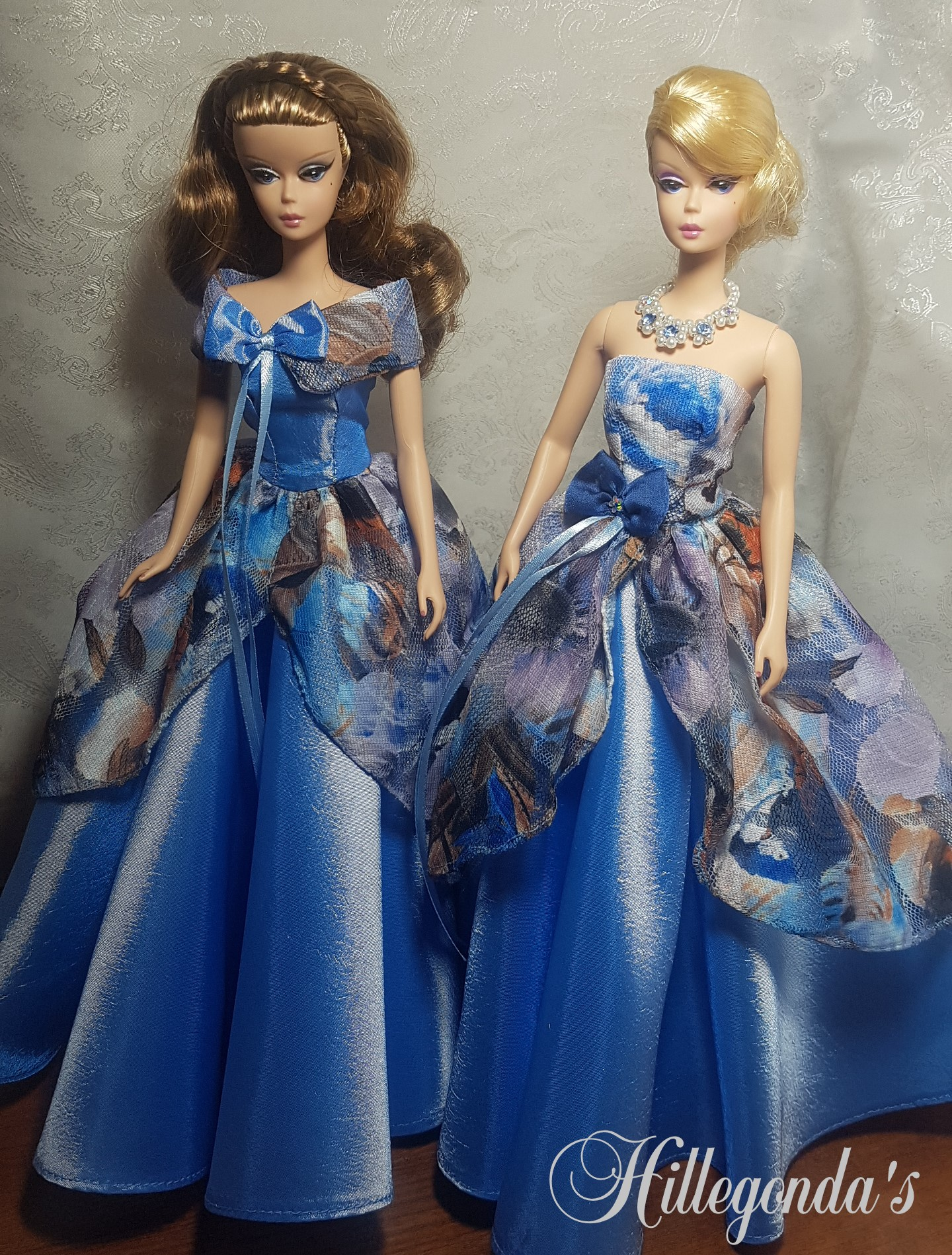Formal wear for Barbie dolls