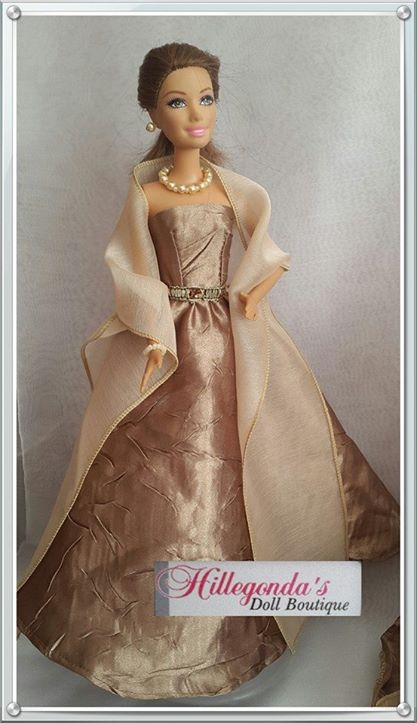 Evening dresses for Barbie dolls
